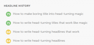 Powerful headlines for blogs