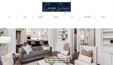 Cereza Design interior design copywritig client2
