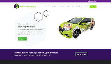 wrap werks website copy client
